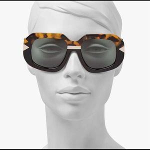 🆕 KAREN WALKER Hollywood Creeper Sunglasses